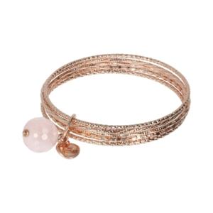 Gemstone Slip- On Bracelet